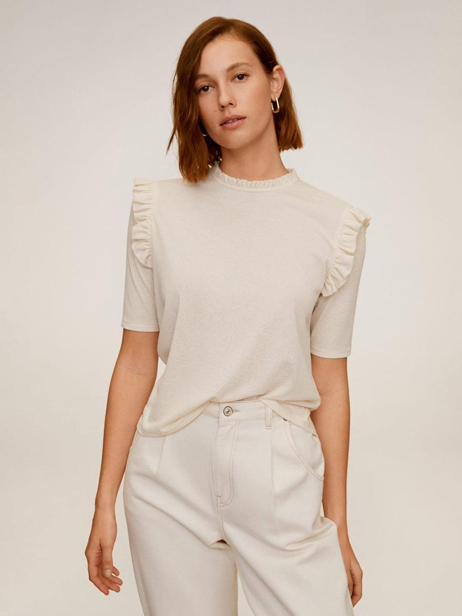 Блуза бежевая | 5369569