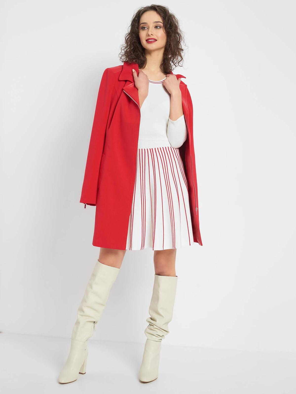 Платье белое в полоску | 5368831