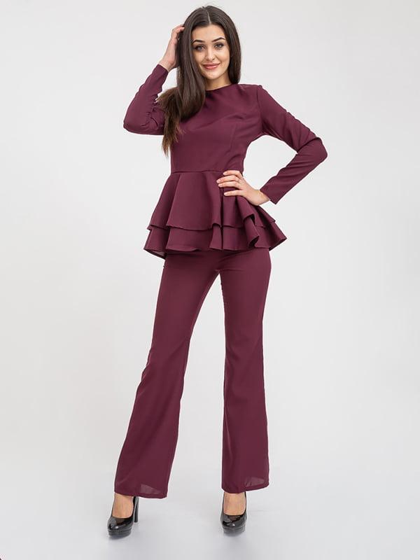 Костюм: блуза и брюки   5374699