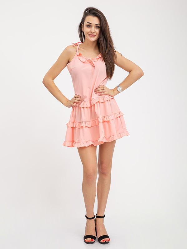 Сарафан персикового цвета | 5374738