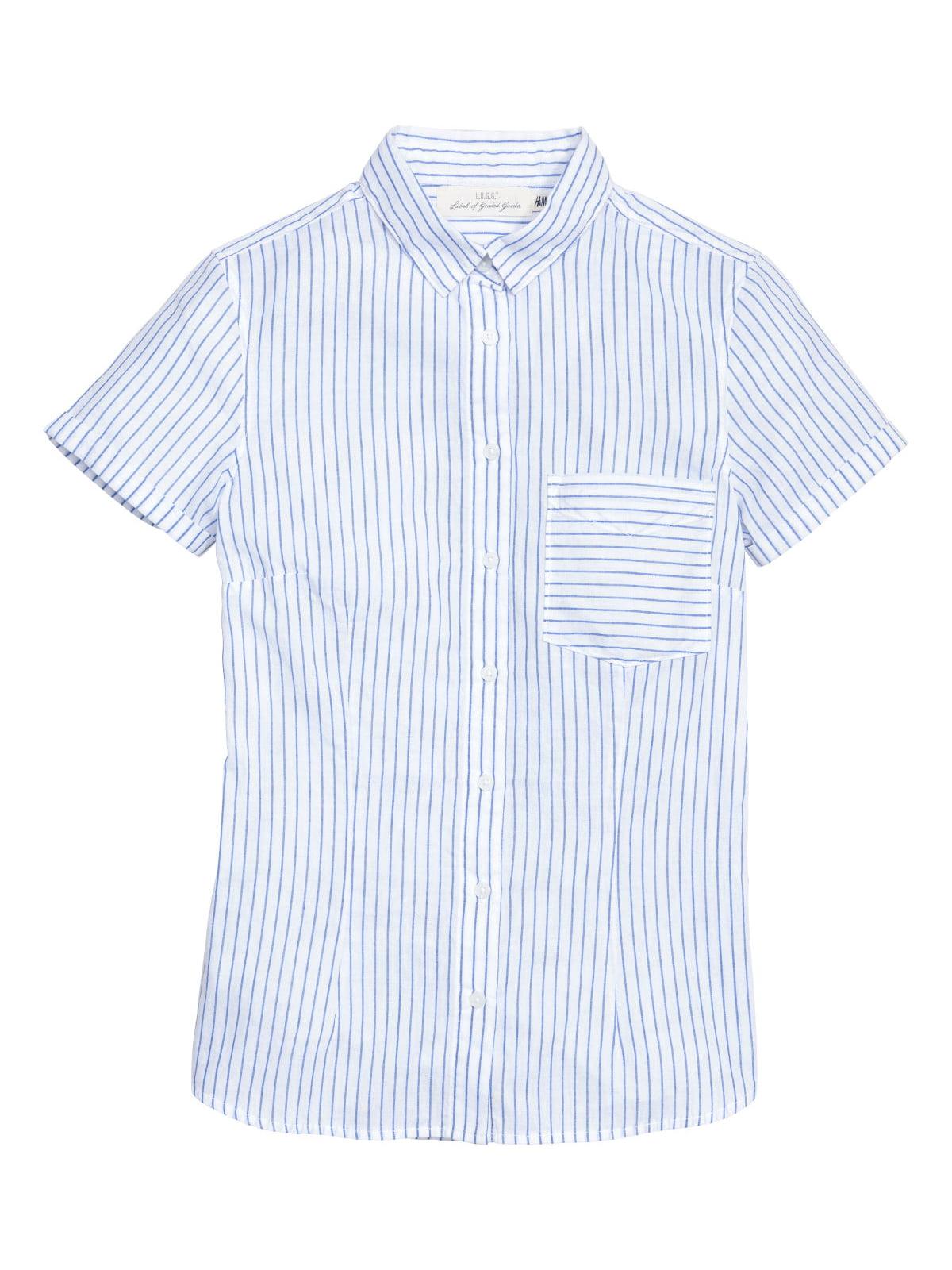 Сорочка біла в смужку   5375662