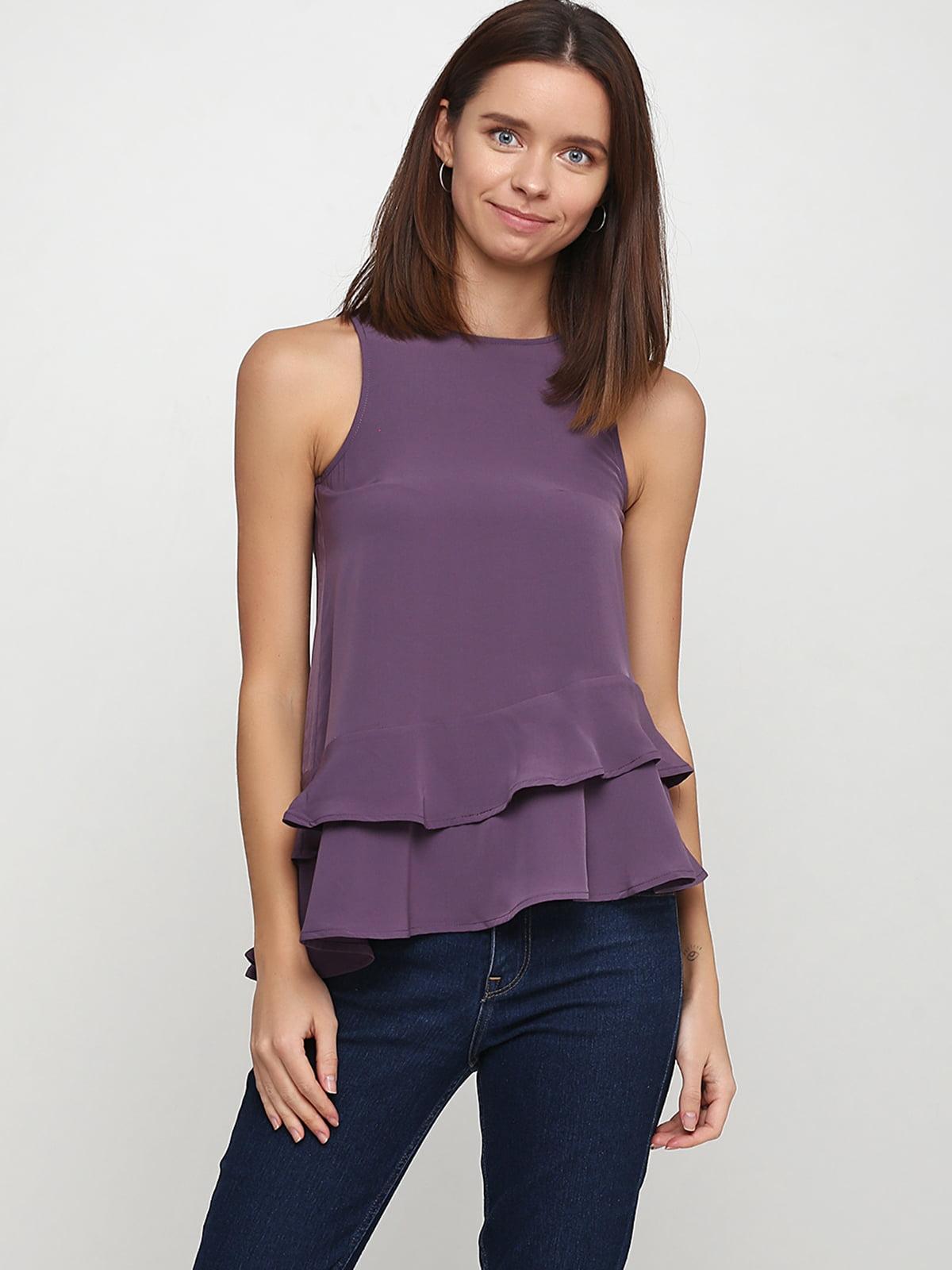 Блуза фиолетовая | 5375681