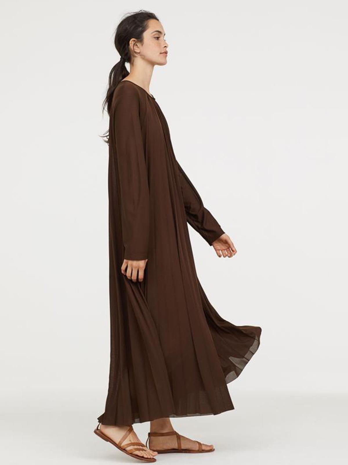Платье коричневое | 5375786