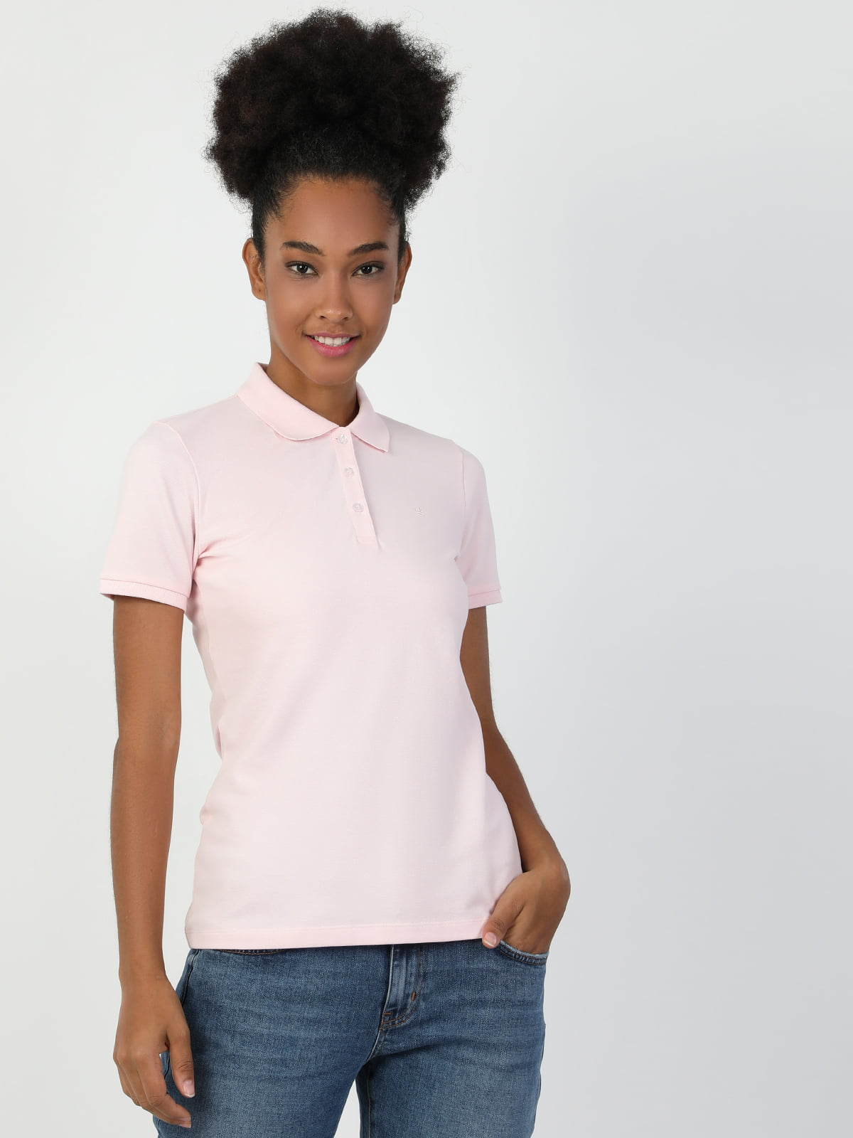 Футболка-поло розовая | 5377815