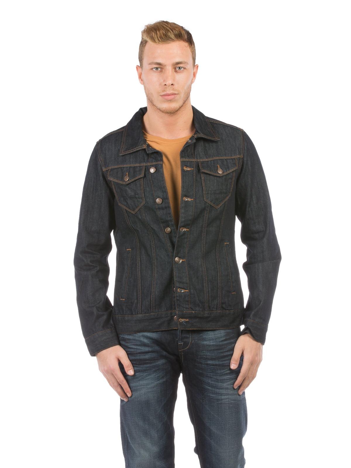 Куртка джинсовая темно-синяя | 5376153