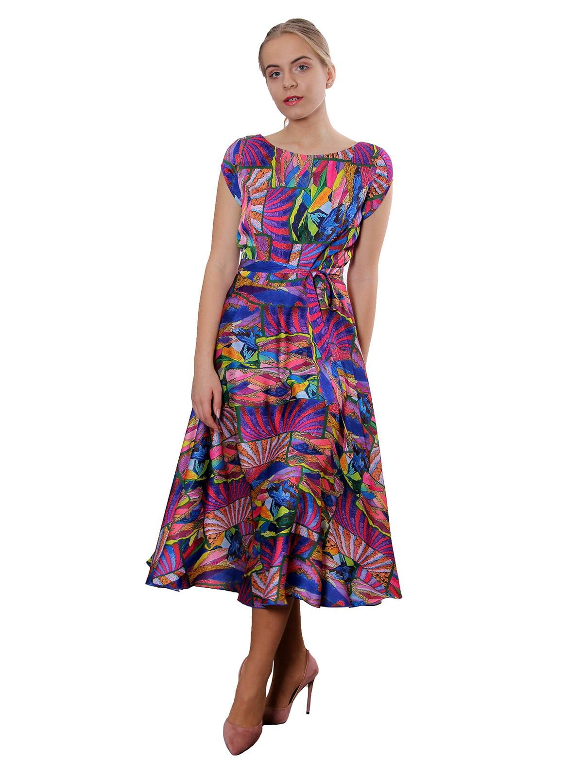 Платье разноцветное | 5379772