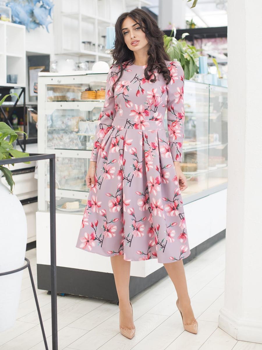 Сукня в квітковий принт | 5379845
