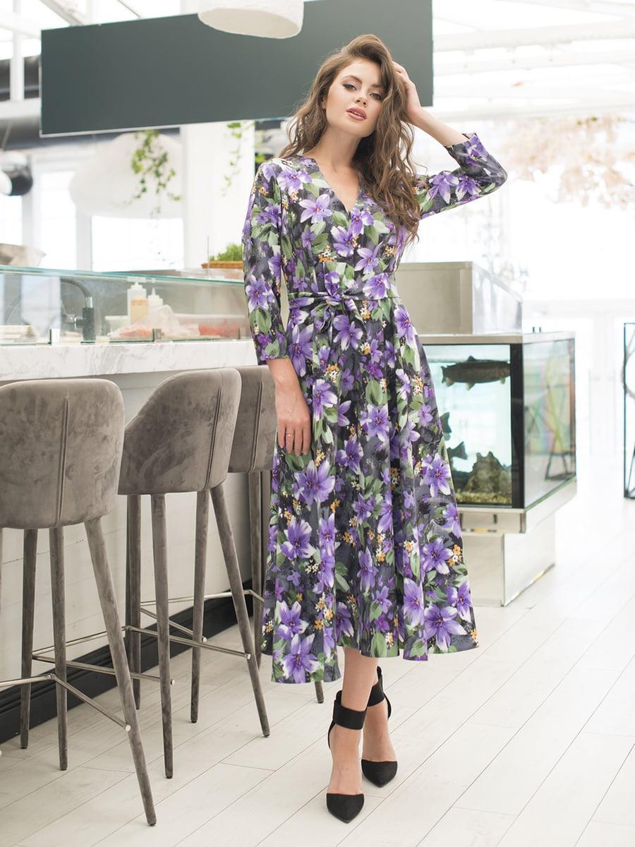 Платье в цветочный принт   5379849