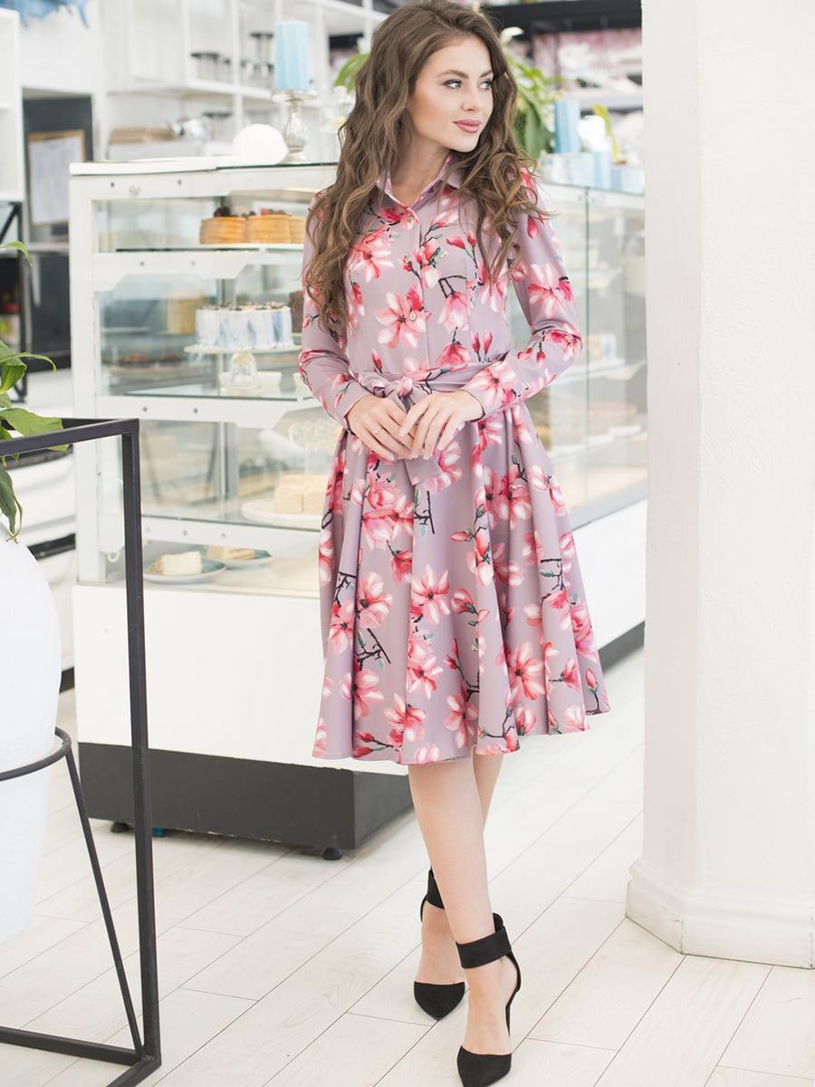 Сукня в квітковий принт   5379851