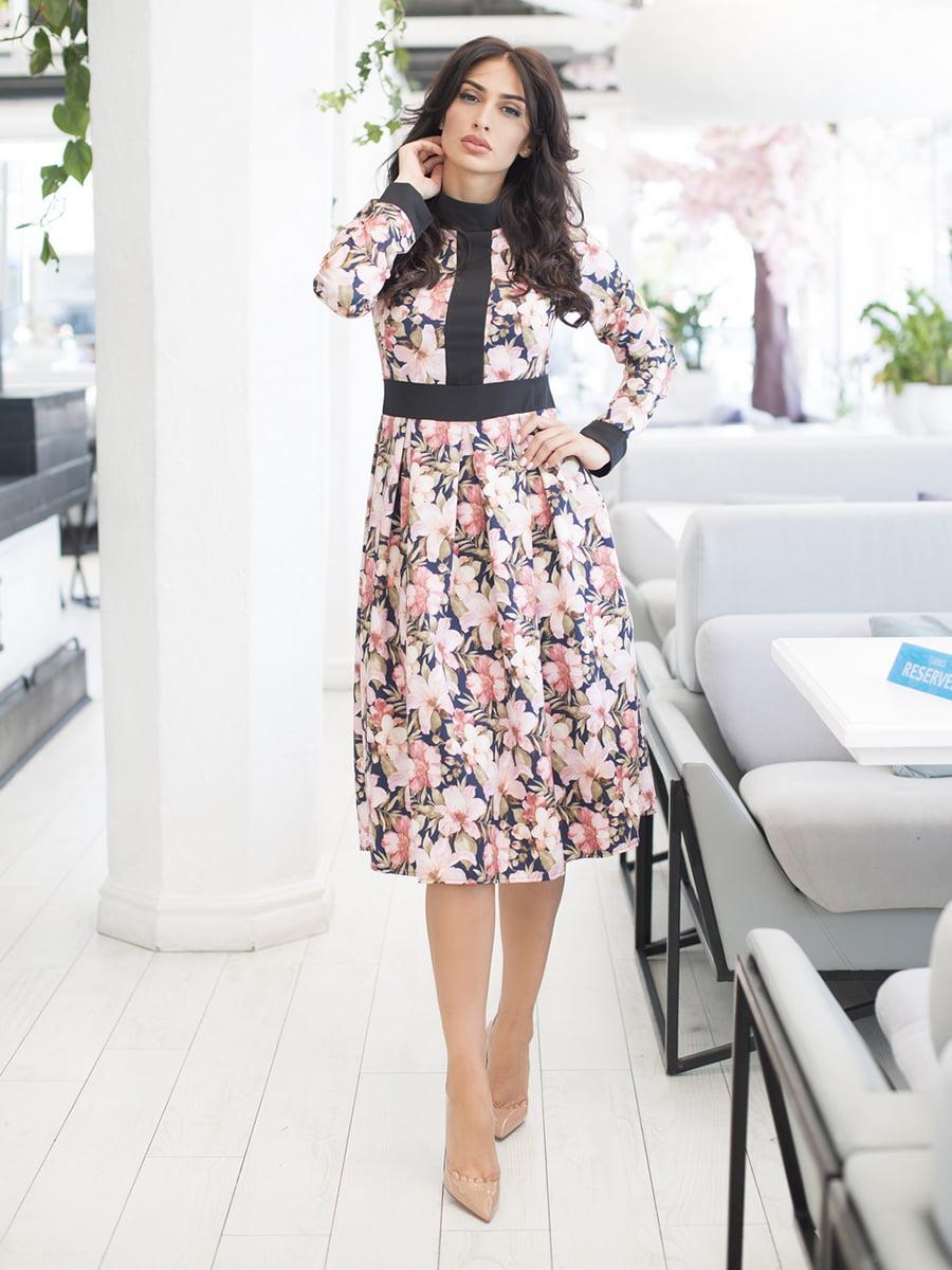 Сукня в квітковий принт | 5379855