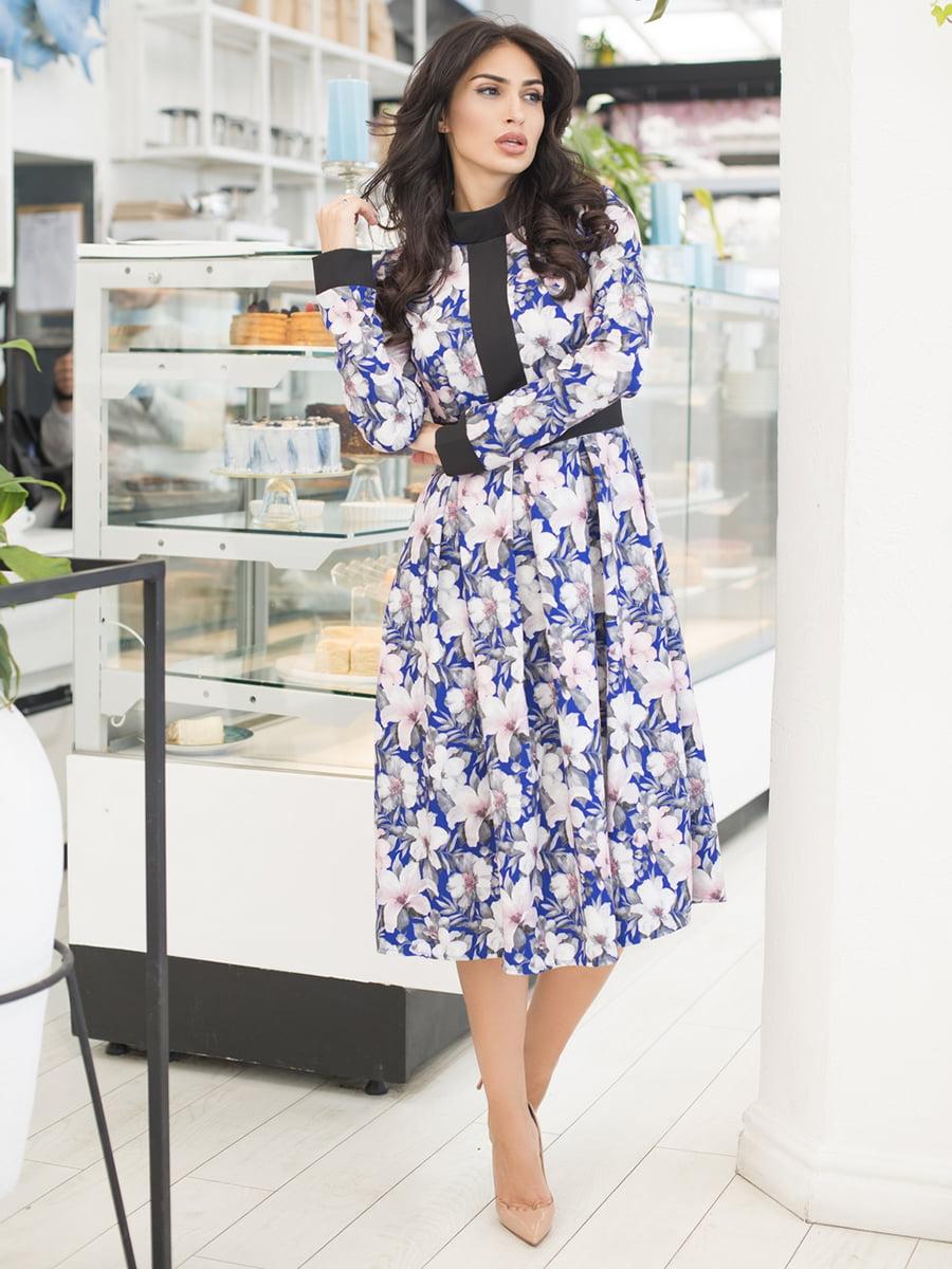 Платье в цветочный принт   5379857