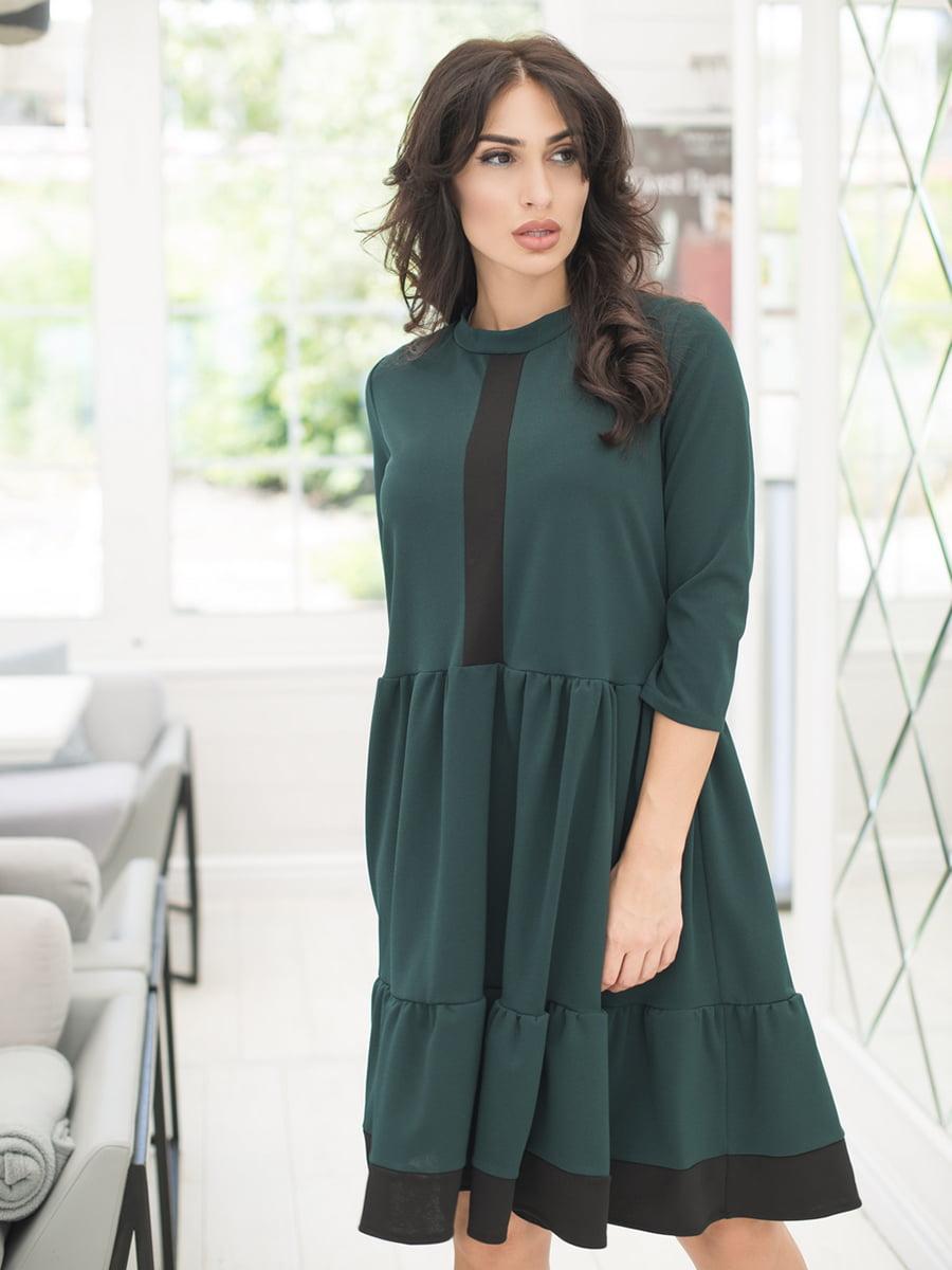 Сукня темно-зелена   5379860