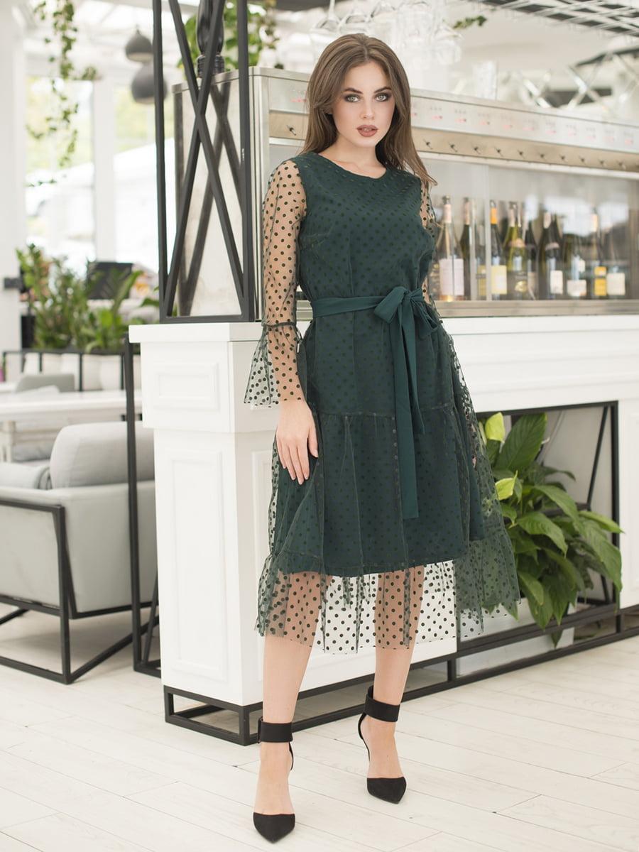 Сукня темно-зелена   5379863