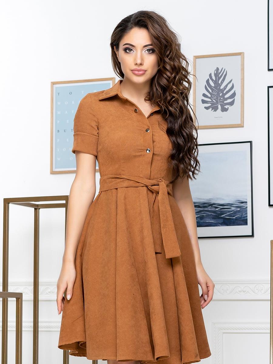 Сукня гірчичного кольору | 5379888