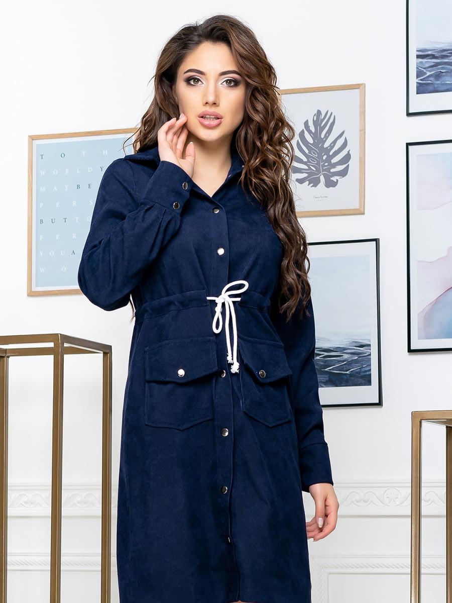 Сукня темно-синя | 5379894