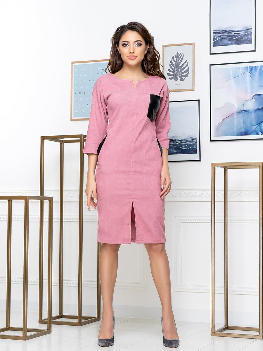 Платье цвета пудры | 5379895