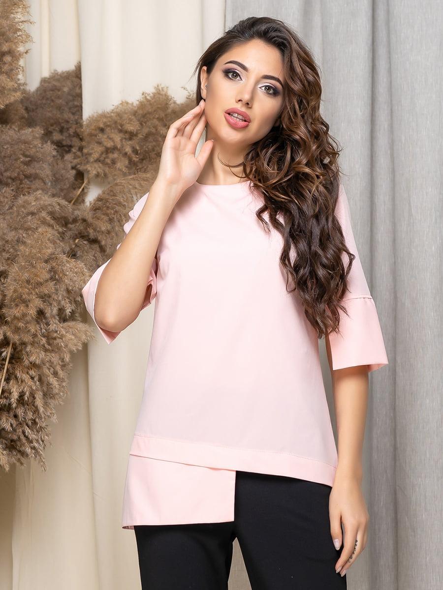 Блуза кольору пудри   5379907