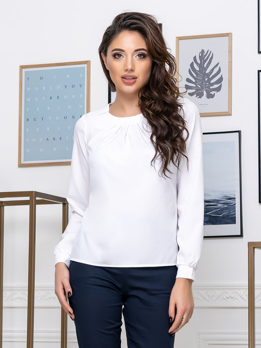 Блуза біла | 5379909