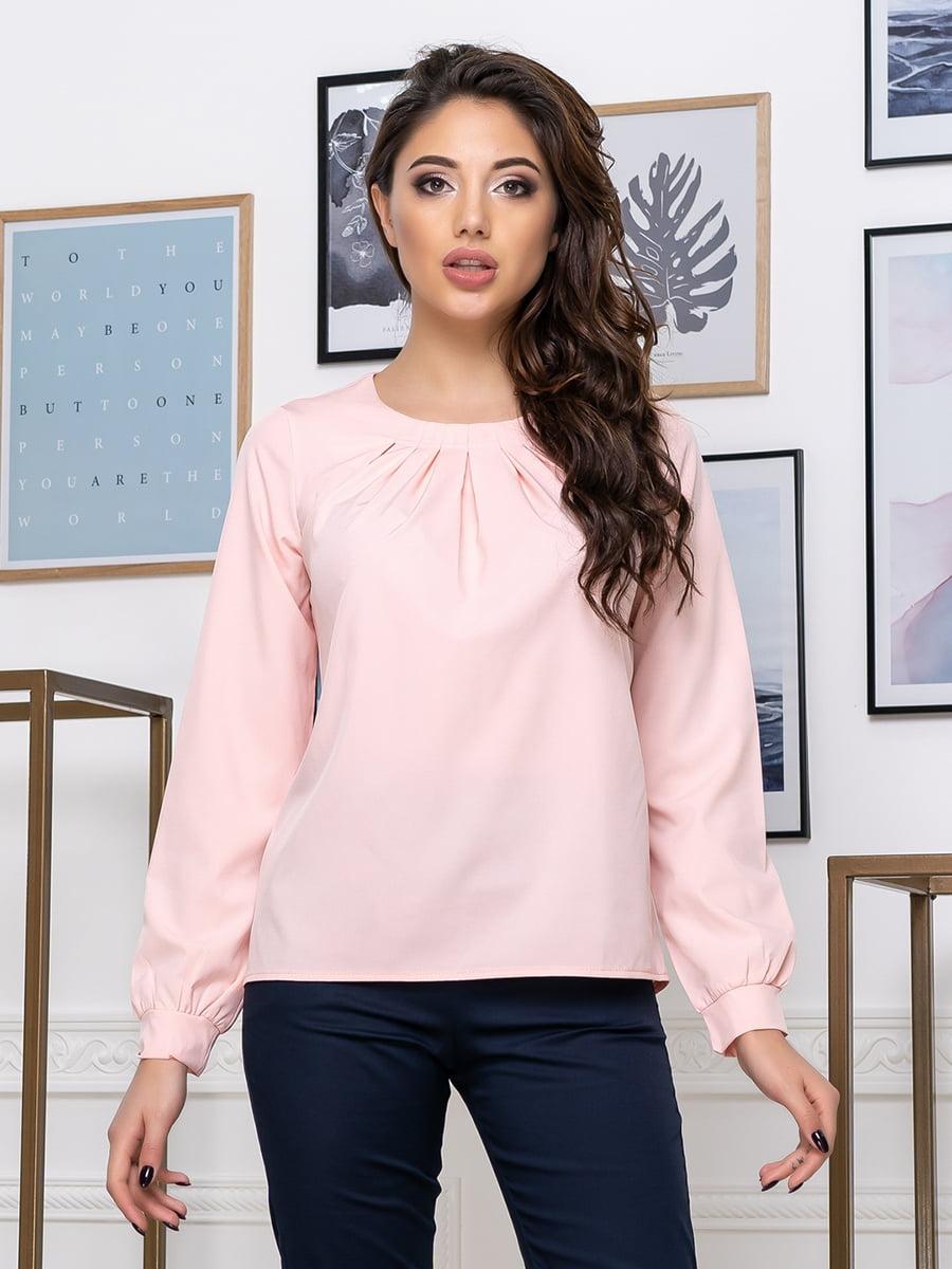 Блуза кольору пудри   5379912