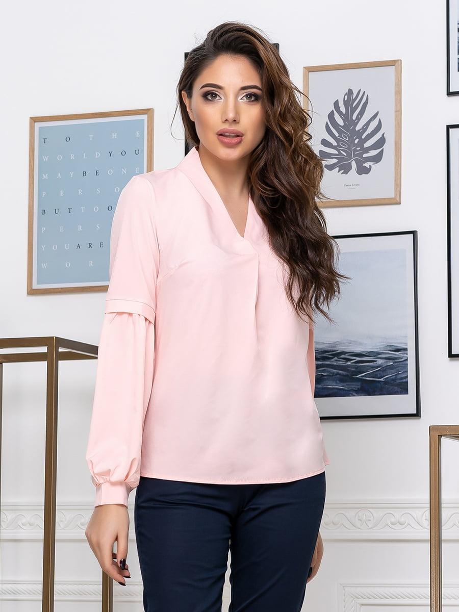Блуза цвета пудры   5379917