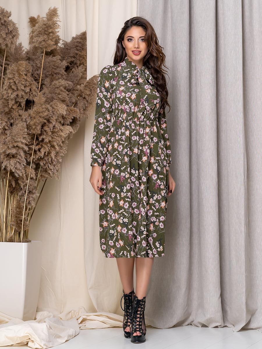 Сукня в квітковий принт   5379944