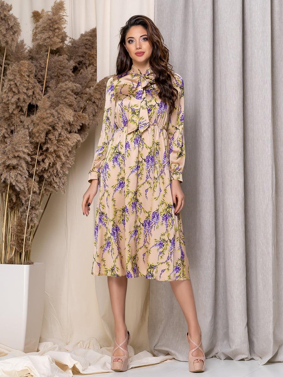 Сукня в квітковий принт   5379945
