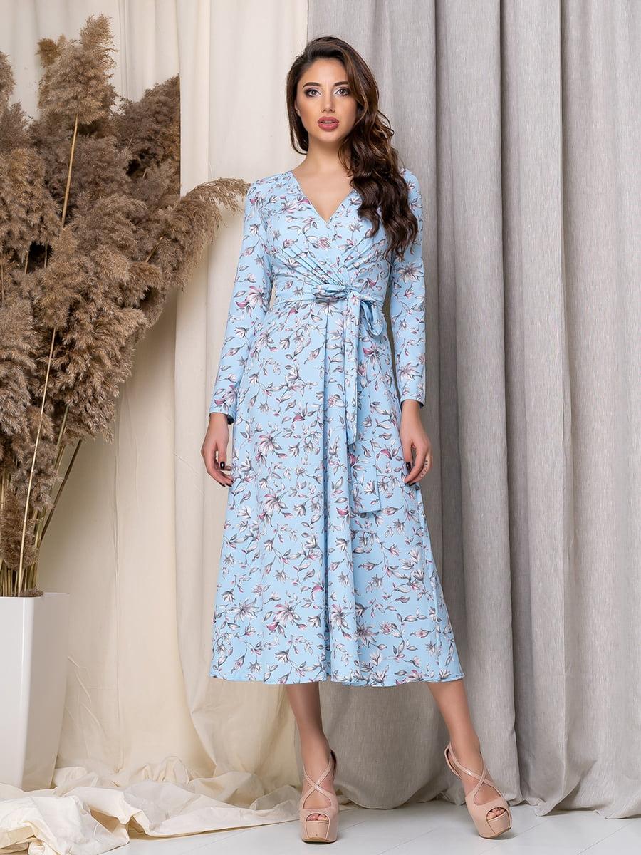 Сукня в квітковий принт   5379949