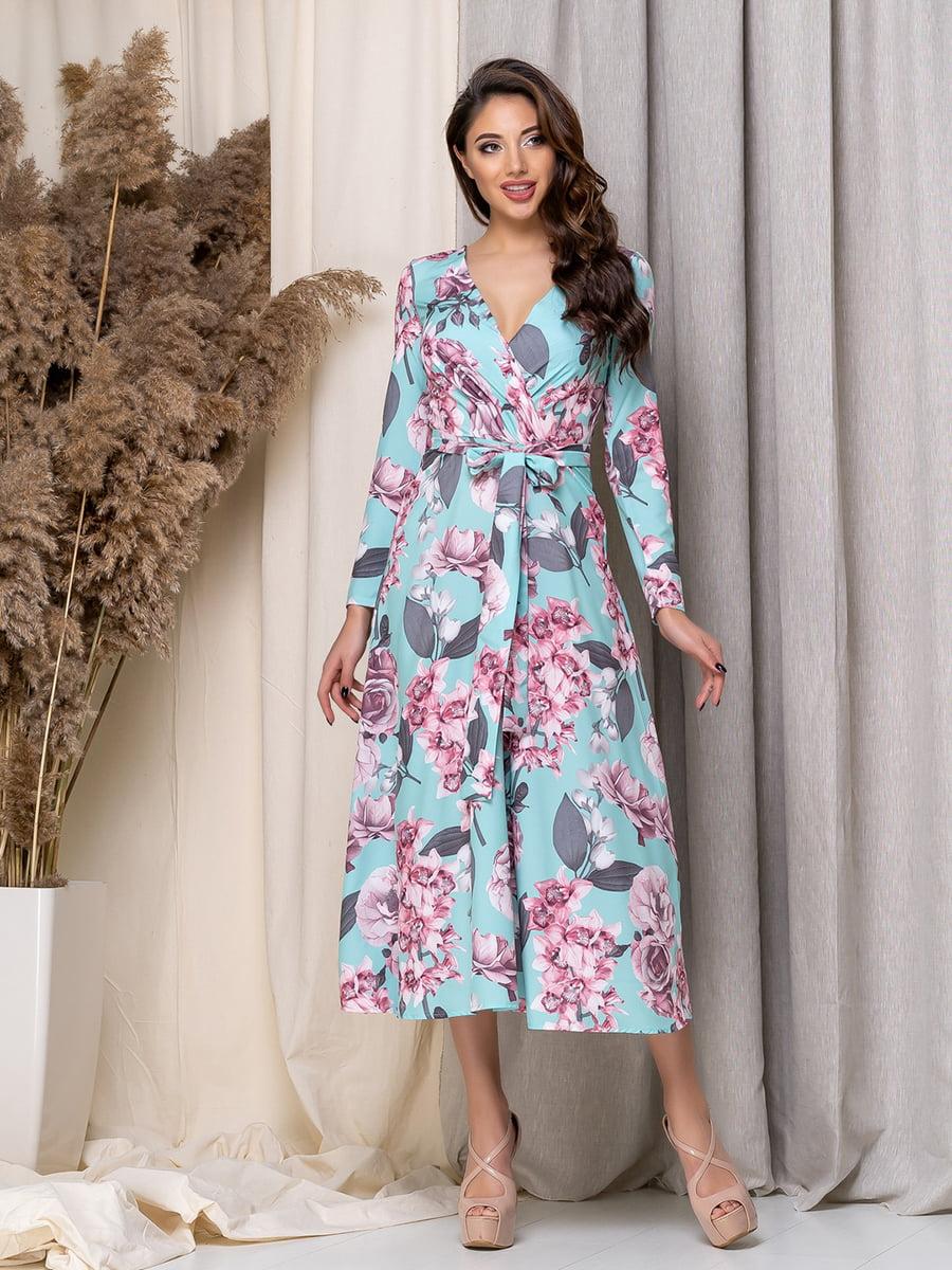 Сукня в квітковий принт | 5379952