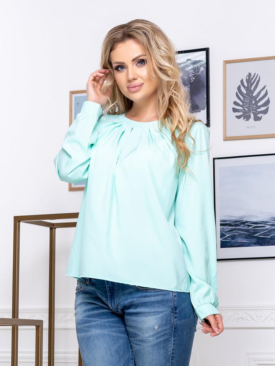 Блуза мятного цвета | 5380054