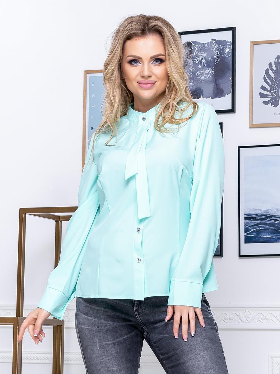 Рубашка мятного цвета | 5380069
