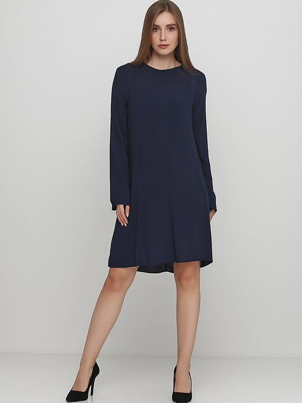 Платье темно-синего цвета | 5380777
