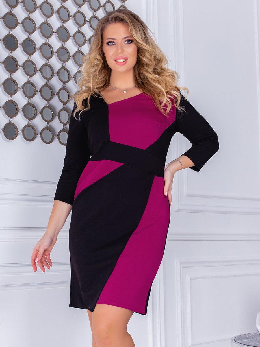 Платье двухцветное   5383801
