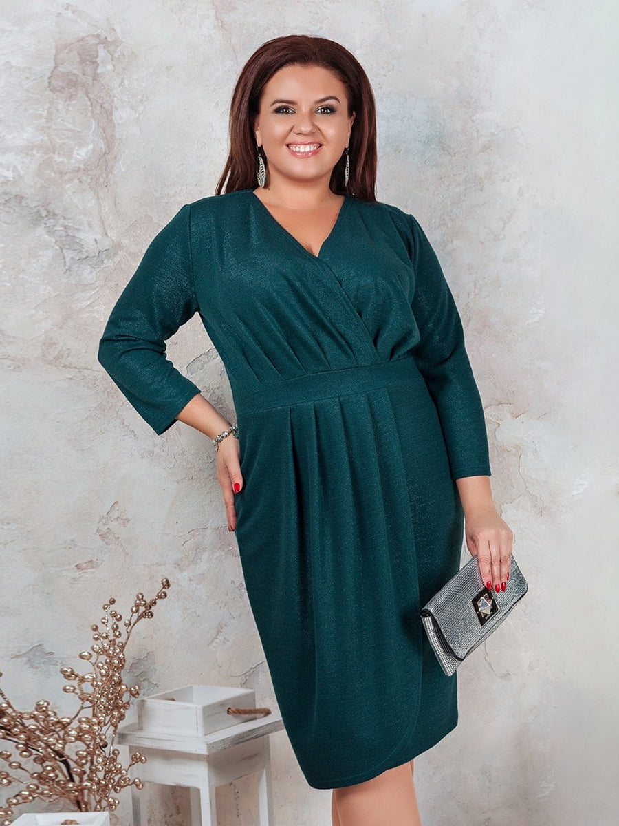 Сукня темно-зелена | 5383923