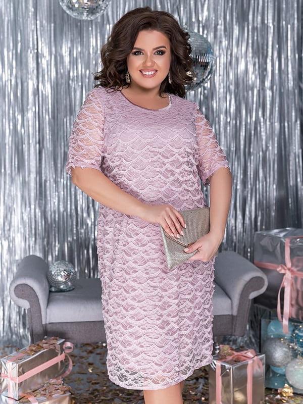 Платье лилового цвета | 5383932