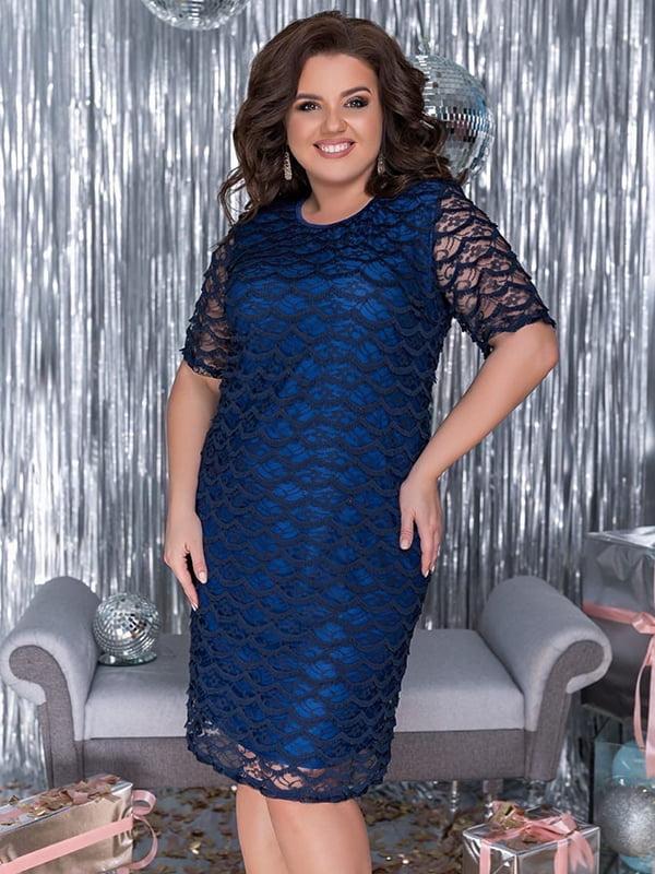 Платье синее | 5383933
