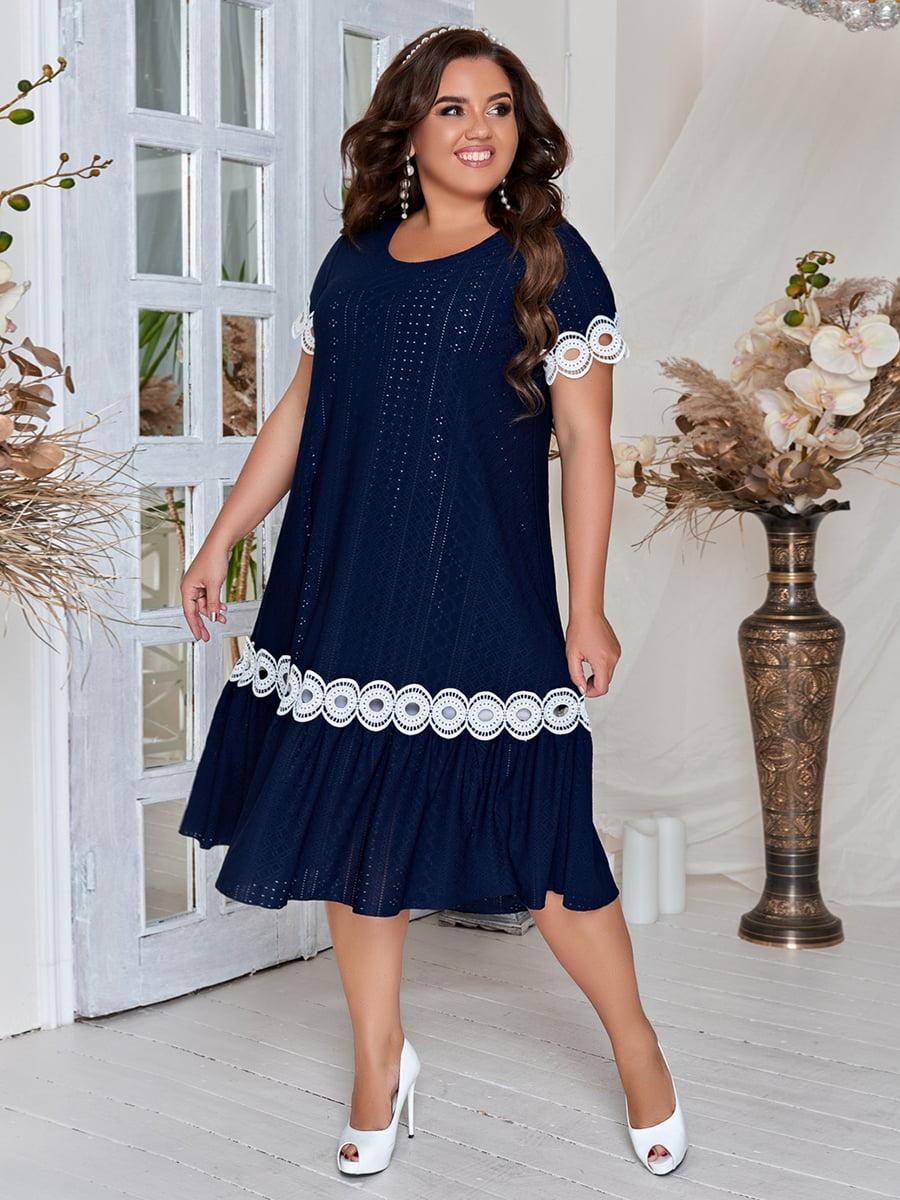 Сукня темно-синя | 5383936