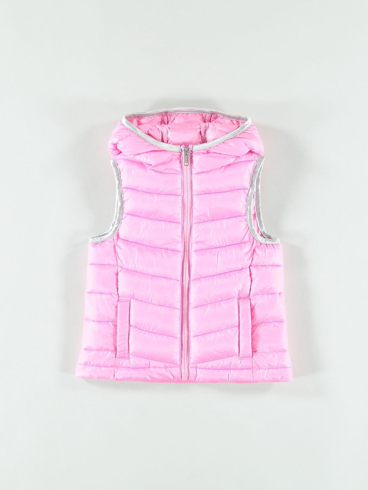 Жилет рожевий | 5384695