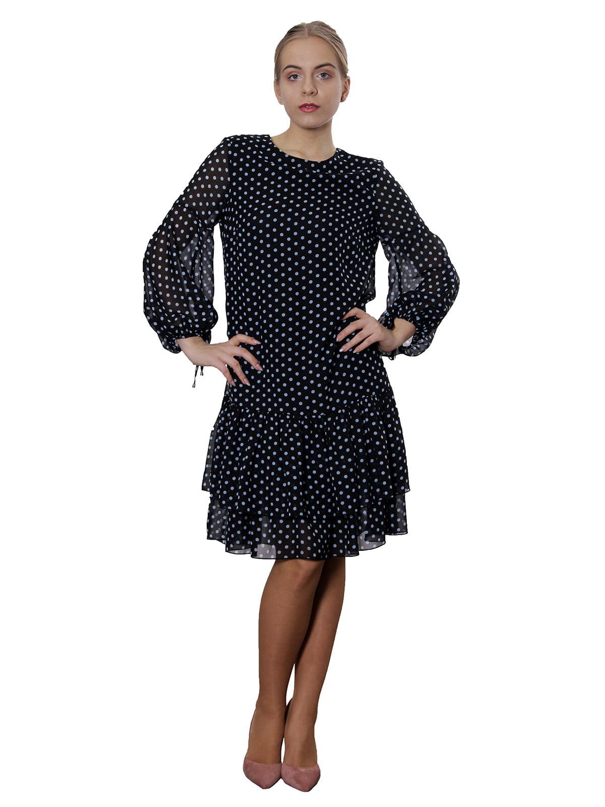 Платье в горошек   5385764