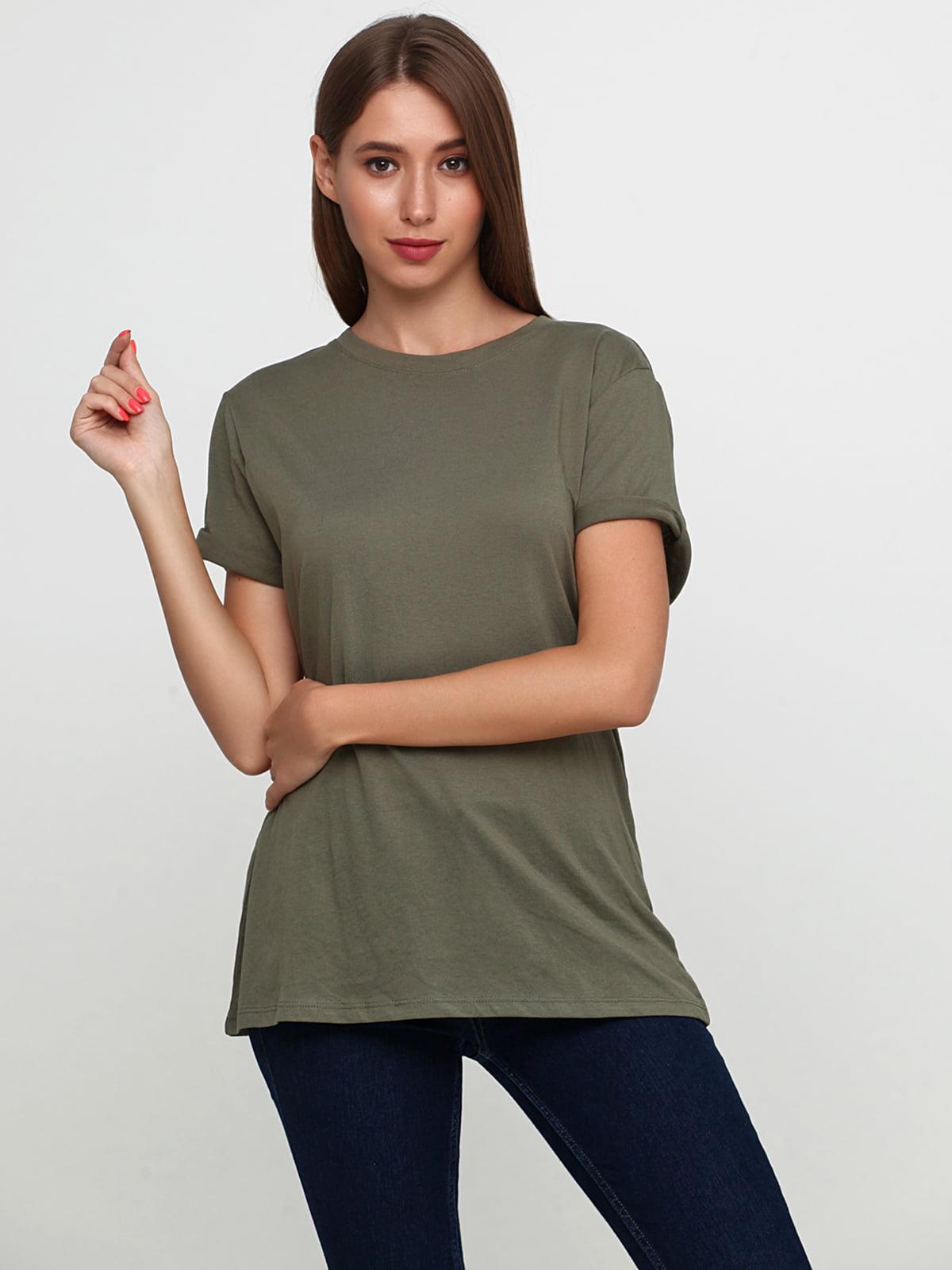 Блуза цвета хаки | 5386207