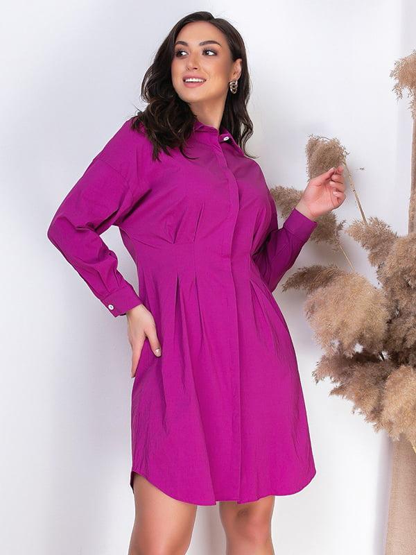 Сукня кольору фуксії | 5386589