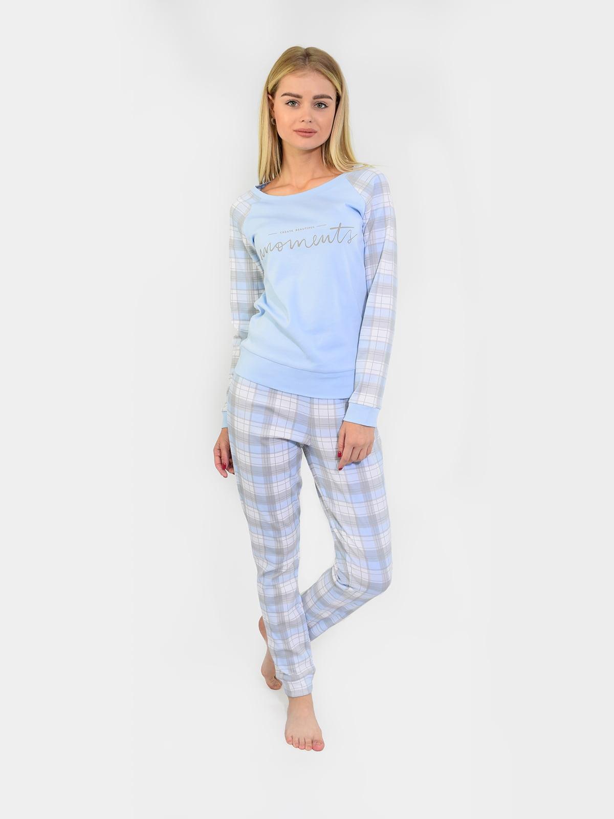 Піжама: реглан і штани | 5387407