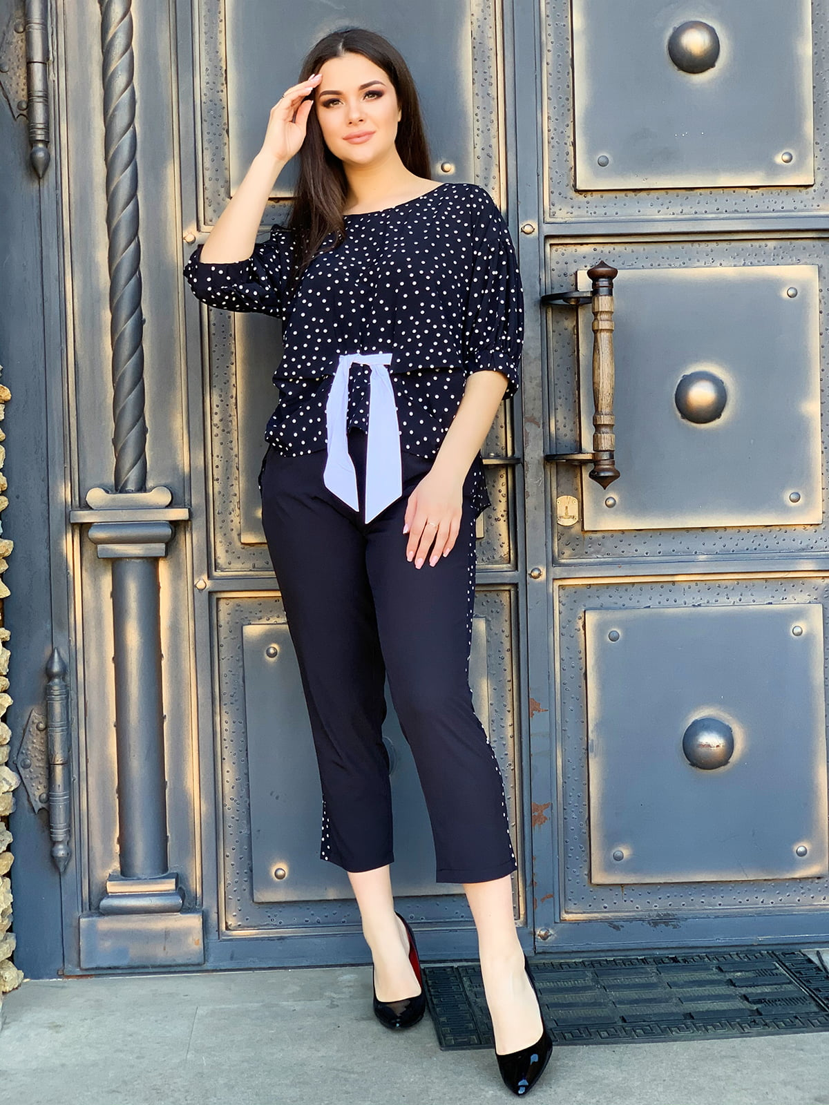 Комплект: блуза і штани | 5387874