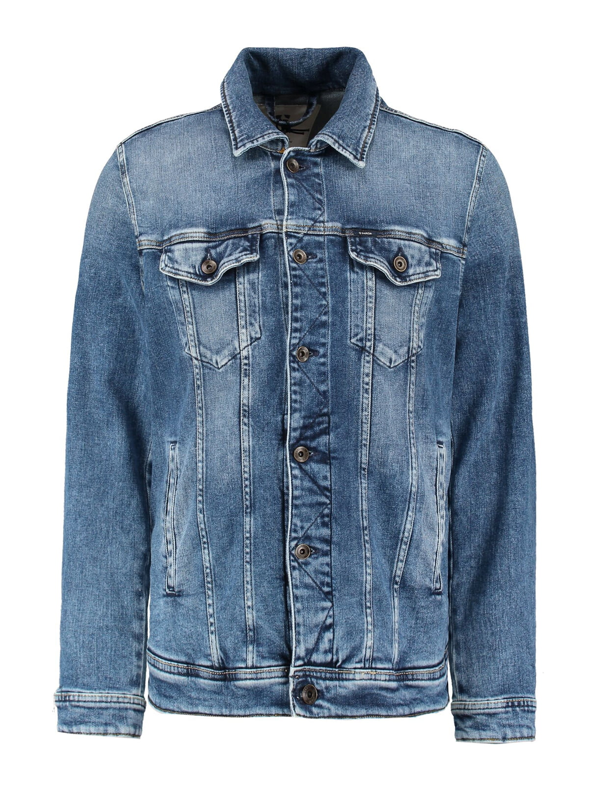 Куртка синя джинсова | 5387927