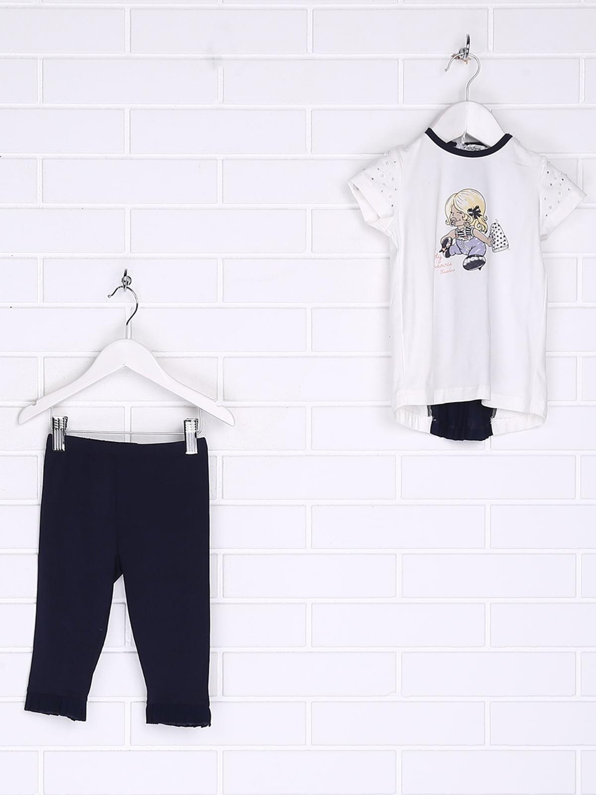 Комплект: блуза и леггинсы | 5388354