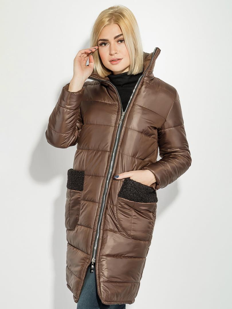 Пальто коричневое | 5393490