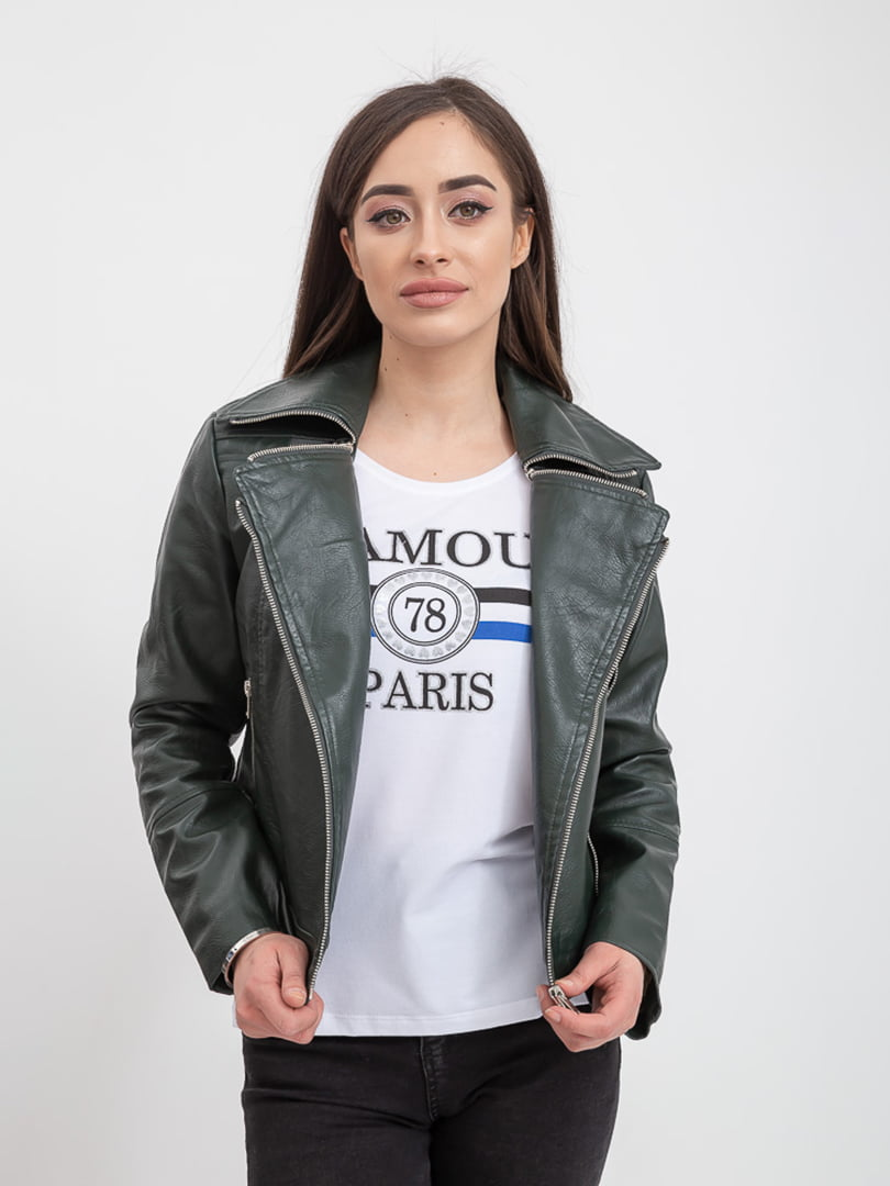 Куртка темно-зеленая | 5393492