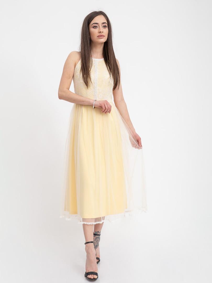 Платье лимонного цвета | 5393507