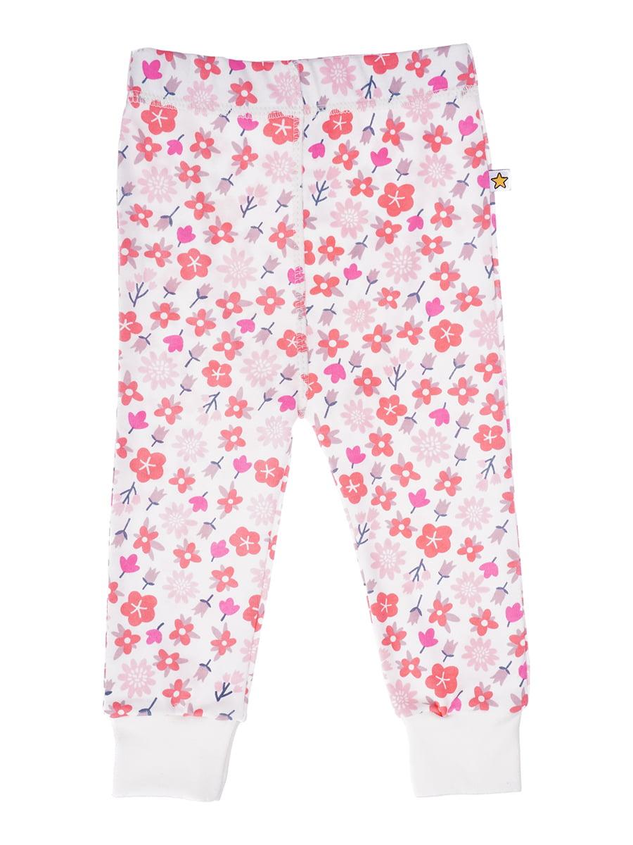 Повзунки рожеві з принтом | 5394109