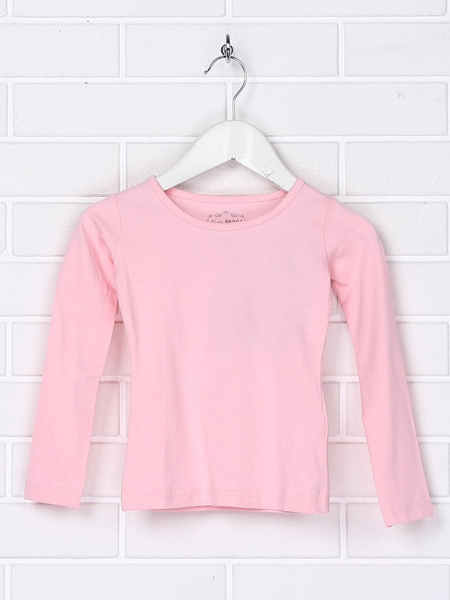 Лонгслив розовый   5394693