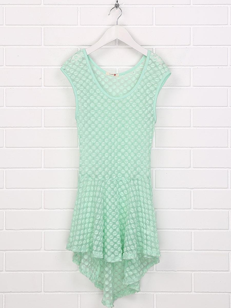 Платье мятного цвета | 5394849